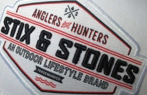 Stix & Stones logo on ball cap