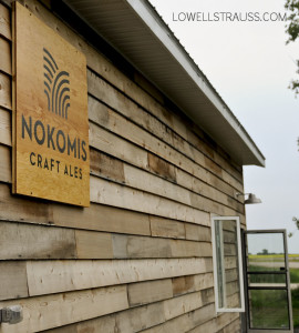 Nokomis Craft Ales sign and logo