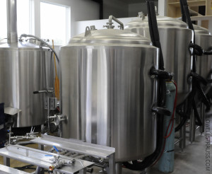 Beer brewing tanks