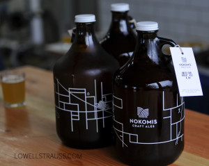 Nokomis Craft Ales Growlers