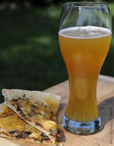 Nokomis Craft Ales - American Wheat Ale and Homemade Pizza