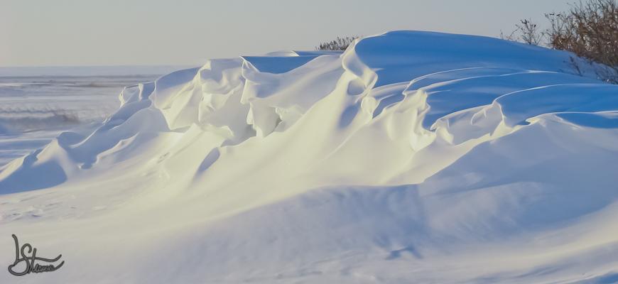 Prairie Snow Drift