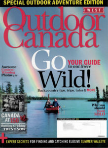 Outdoor Canada Adventure 2017 Cover