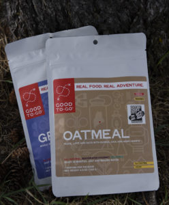 Award winning Good To-Go Oatmeal